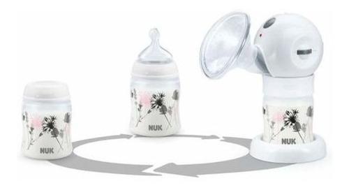 sacaleche electrico nuk luna extractor contenedor bebes