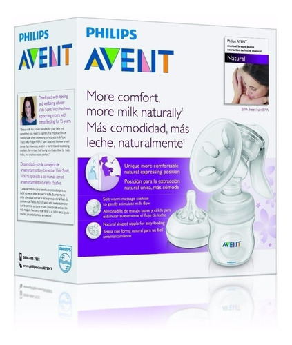 sacaleche manual natural avent philips !promo!! envio gratis