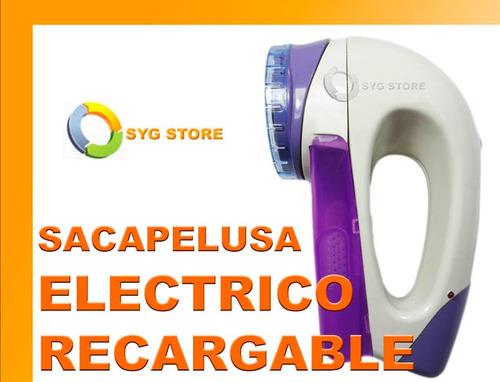 sacapelusas electrico bateria recargable electrico regalo