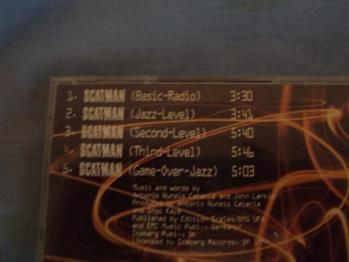 sacatman  remixes cd