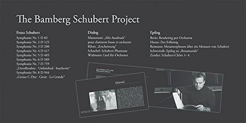 sacd : bamberg schubert project  - bmg / schubert / nott