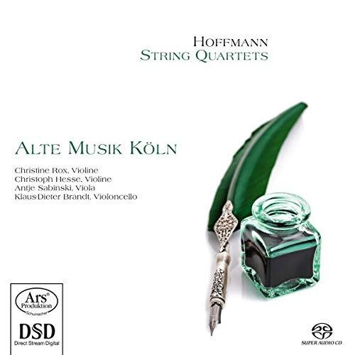 sacd : hoffmann / koln - string quartets (hybrid sacd)