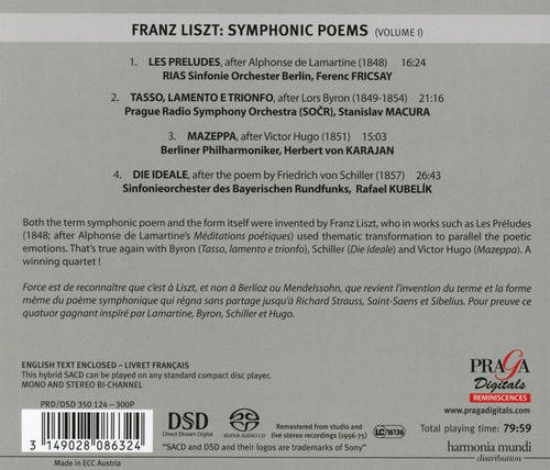 Sacd Liszt Liszt Symphonic Poems Vol 1 Sacd