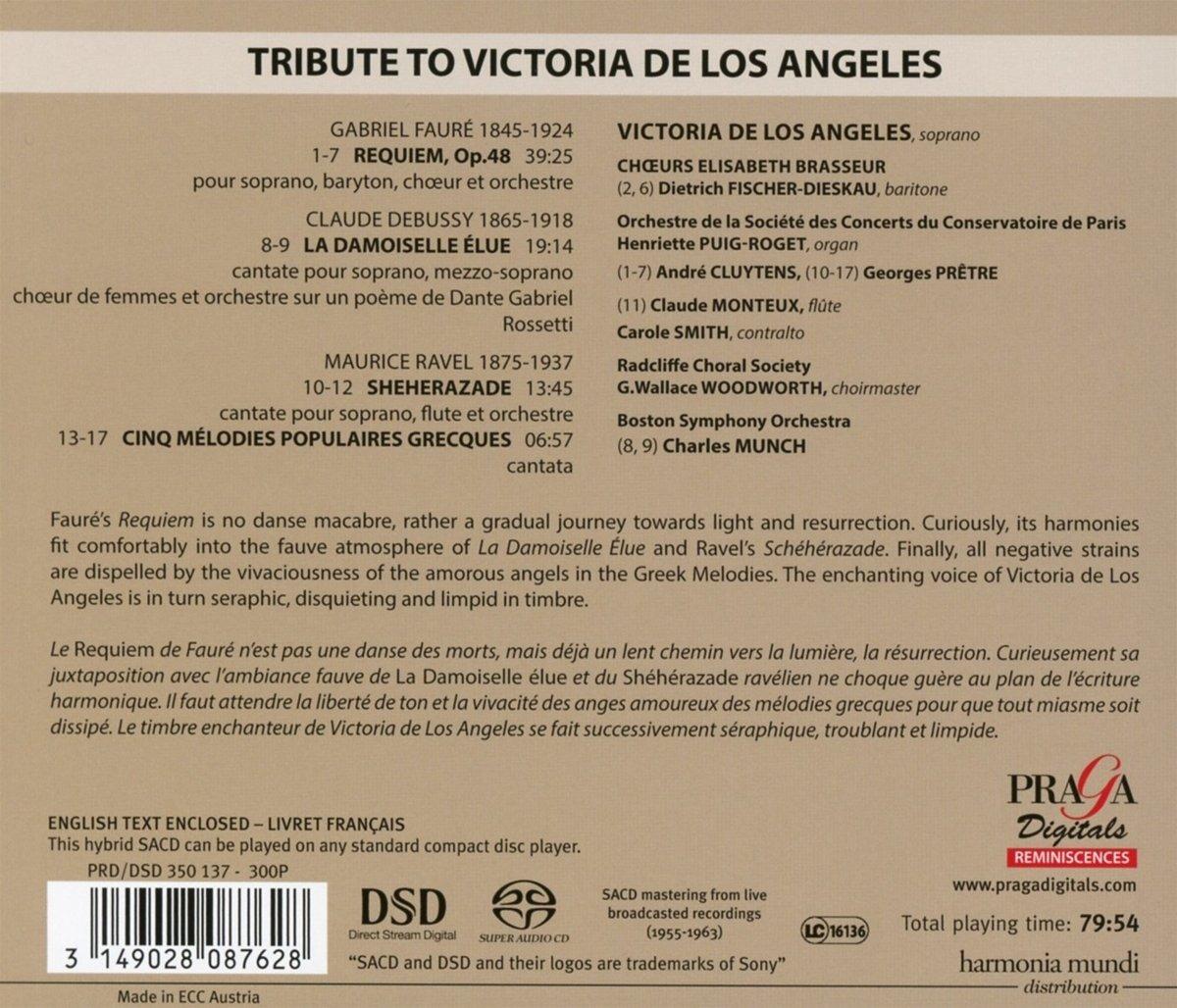 Sacd Victoria De Los Angeles Dietrich Fischer Dieska