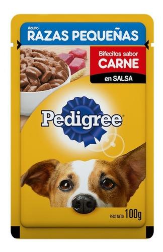sachet pedigree razas pequeñas carne 12 un. santiago