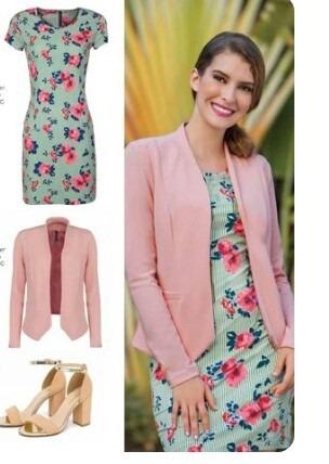 saco 14517 rosa blazer moda nacional rinna bruni