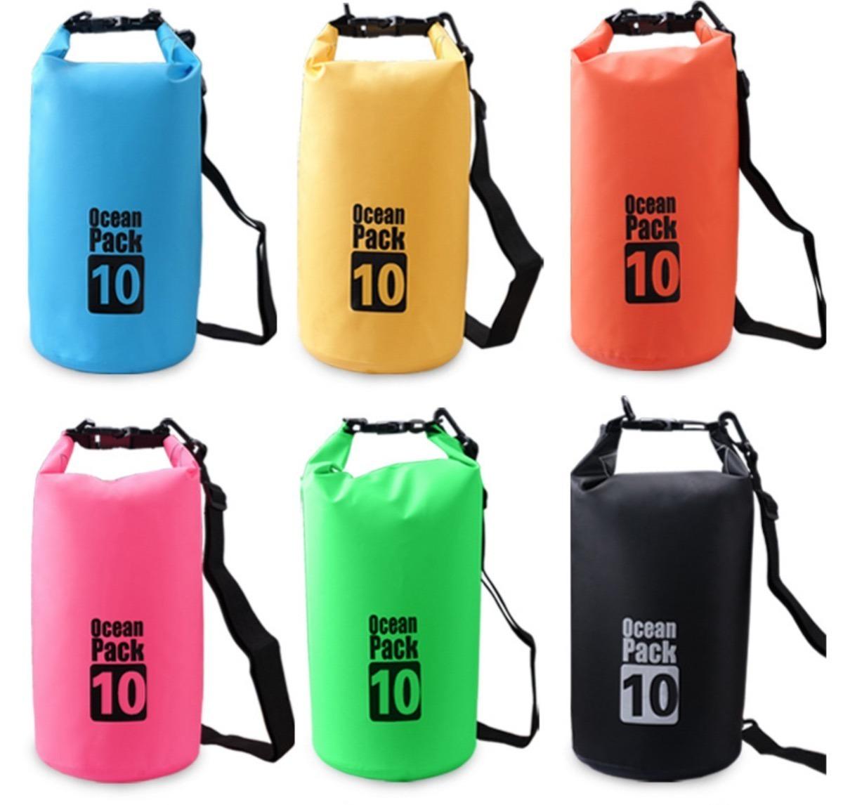 70ef4db16 saco a prova d'agua 10 litros kit c/3 bolsas frete grátis. Carregando zoom.