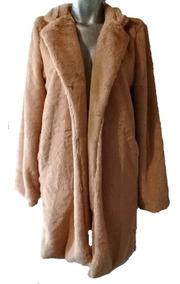 mejor servicio efed8 96d3c Saco Abrigo De Peluche Dama Fax Fur Super Suave