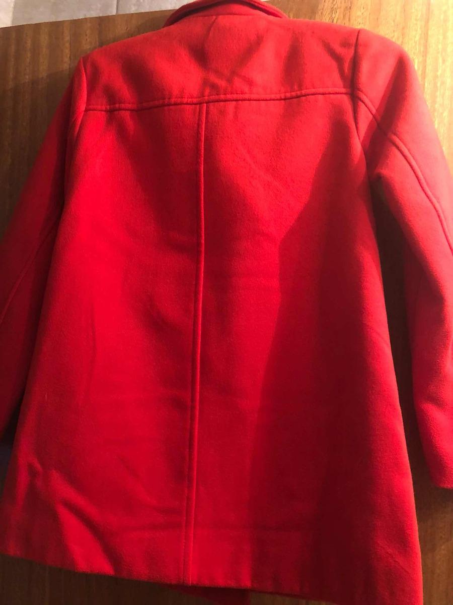 2cfbe18c2 Saco Abrigo Niña Paño Rojo Old Navy 10/12 Años - $ 1.450,00 en ...
