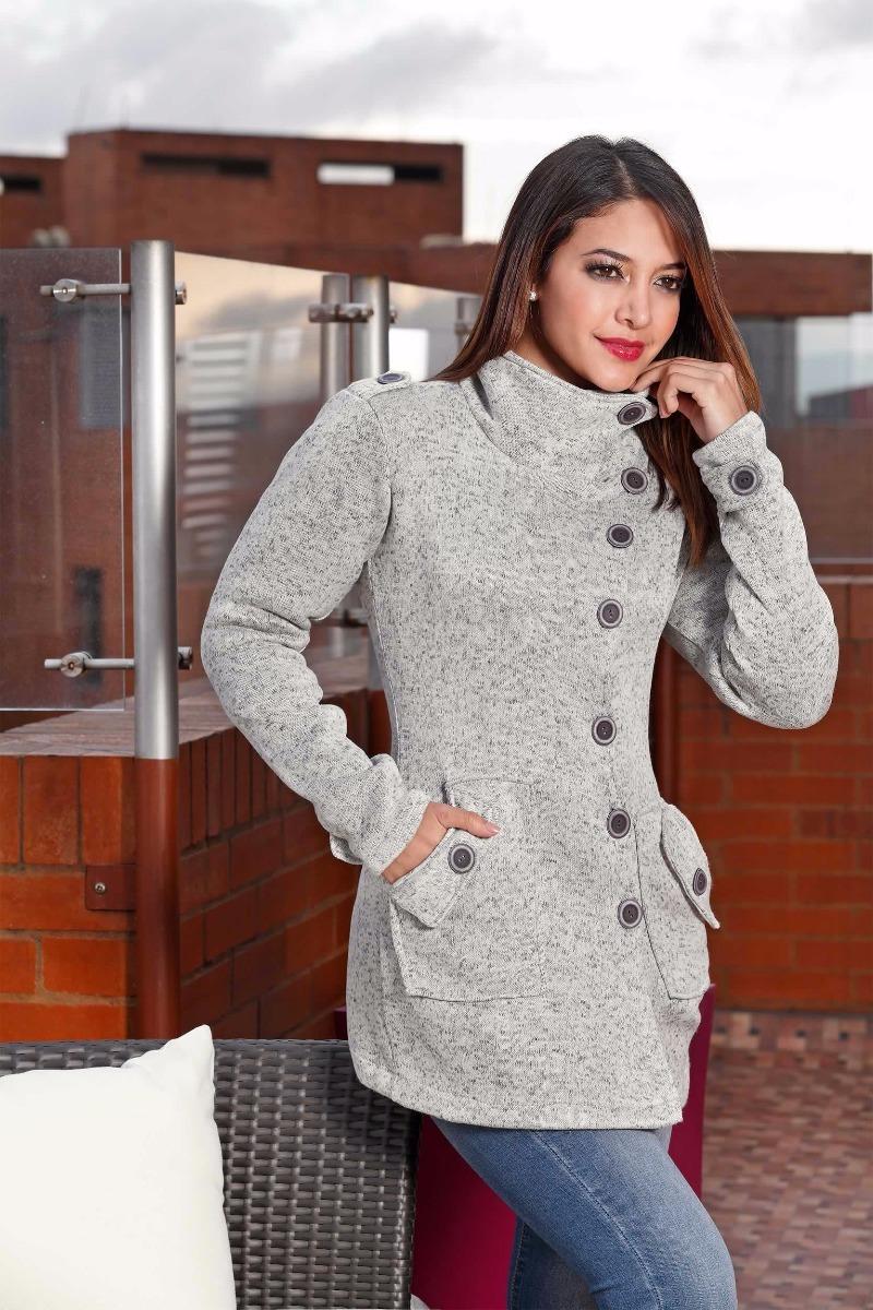 5fb7ad2984fa Saco Abrigo Para Mujer Referencia 6272