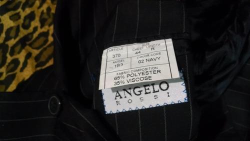 saco angelo rossi 44 diseñado en francia