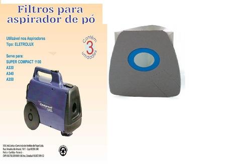 saco aspirador  pó eletrolux a330 c/3