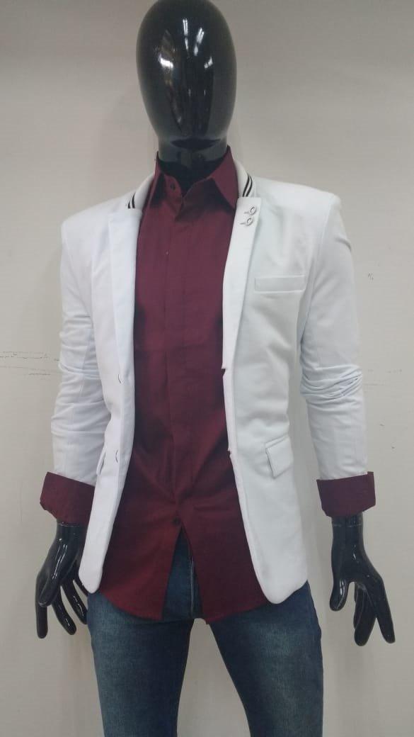 Saco blancoo Corte Slim Modelo 715