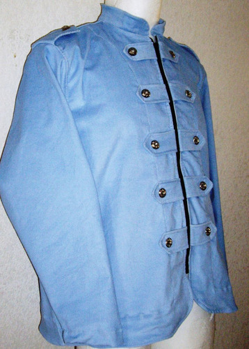 saco blazer corte militar stretch moda hay tallas extras
