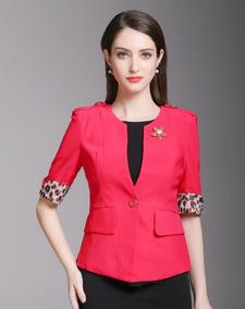 d846861703c7 Sacos Para Mujer Modernos Muchos Botones - Ropa, Bolsas y Calzado de ...