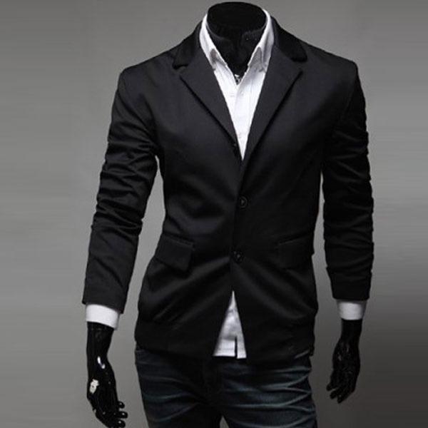 80cdb601ccb82 Saco Blazer Hombre Casual Moda Juvenil Slim Fit Hipster Cool - U S ...