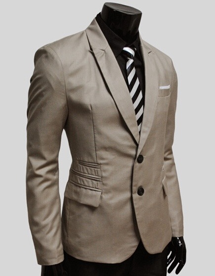 822fca10ef32a Saco Blazer Hombre Moda Elegante Moda Slim Fit Casual Traje - U S ...