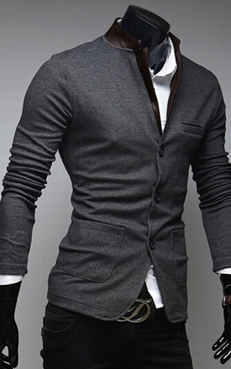 74b5ffbc99440 Saco Blazer Hombre Slim Fit Moda Casual Juvenil E Informal - U S ...