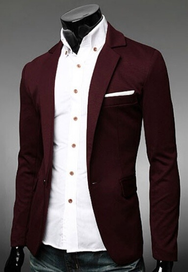 86ddd34e05c8c Saco Blazer Hombre Slim Fit Moda Elegante Juvenil Casual - U S 70.00 ...