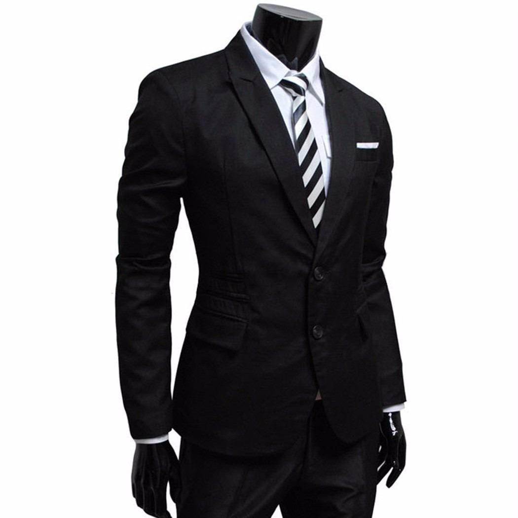 89cca94330b38 saco blazer informal formal slim envío gratis. Cargando zoom.
