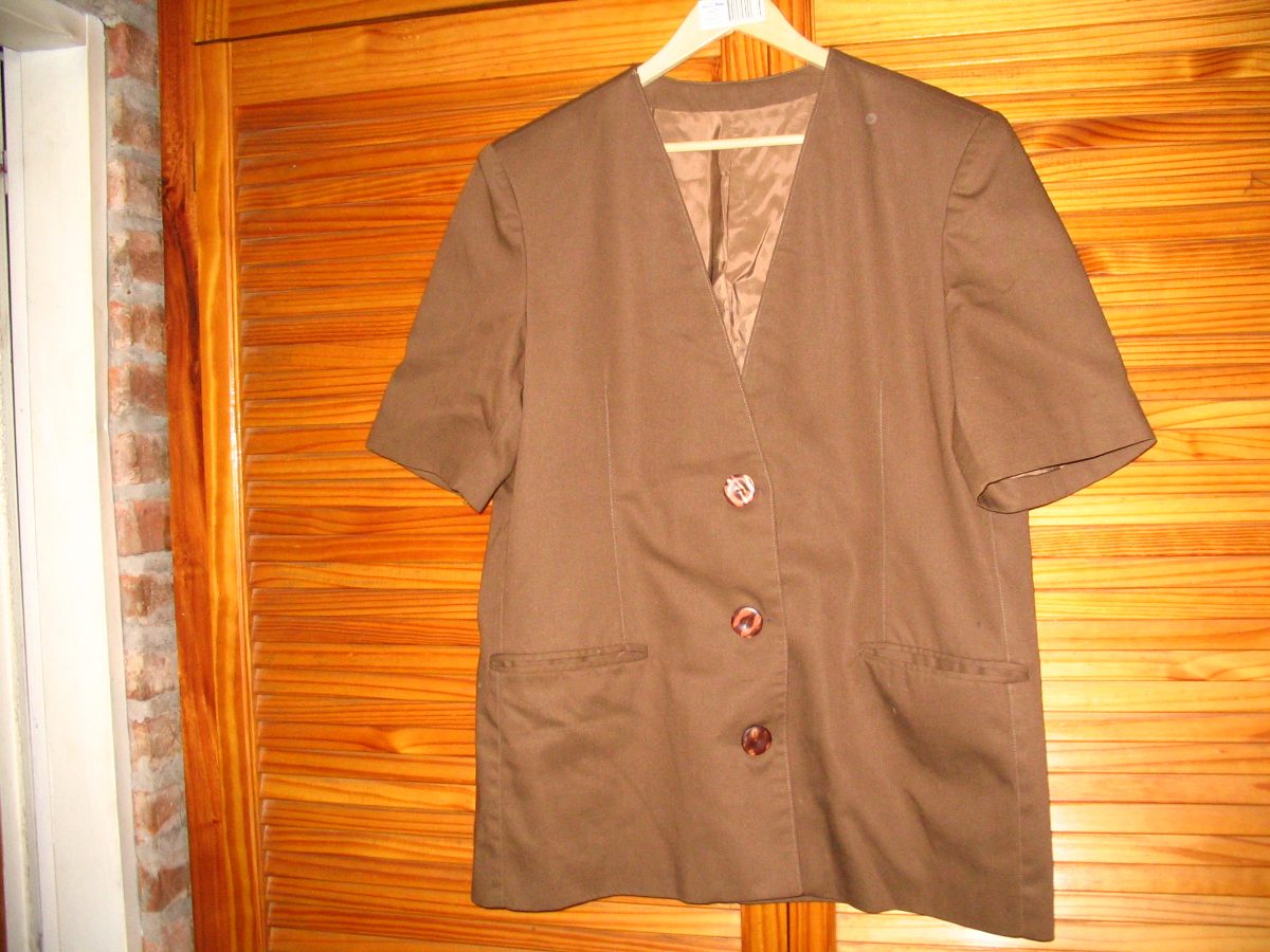 saco blazer marron forrado de vestir mc blaser gabardina fo. Cargando zoom. aeea72b17543