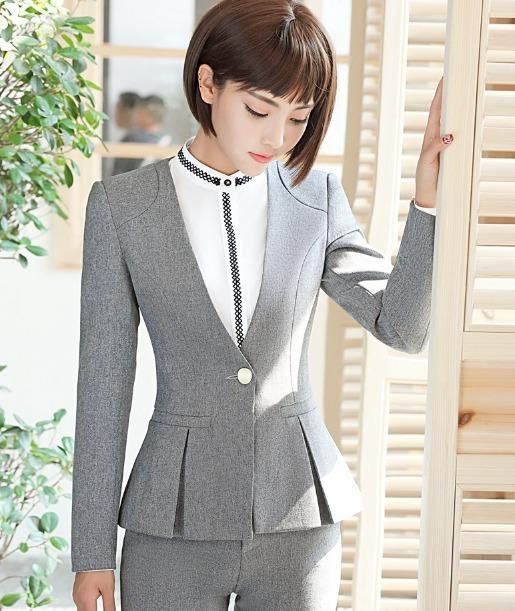 f911ed19a2f0b Saco Blazer Mujer Slim Fit Moderno Un Botón Manga Larga - U S 82.00 ...