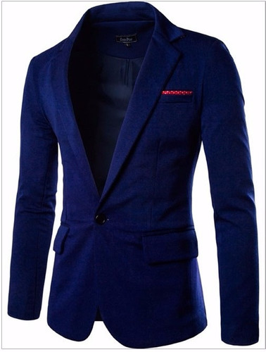 saco blazer slimfit contrast pocket envio gratis! moda japon