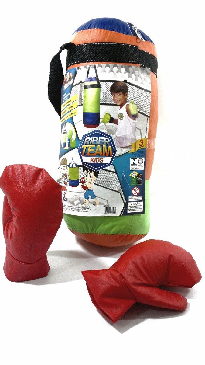 6608b27dc saco boxe infantil riber brink com luva super promoção !!!!! Carregando  zoom.