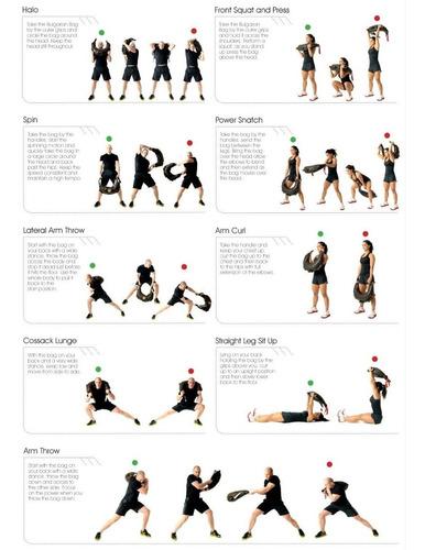 saco búlgaro 5kg entrenamiento crossfit funcional peso