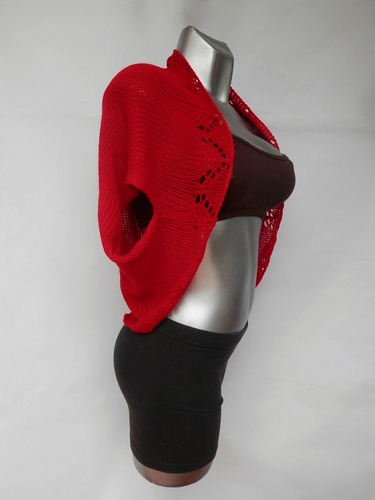 saco chaleco dama cómodo suave elegante tejido fino