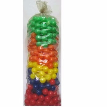saco com 500 bolinhas coloridas p/piscina direto da fabrica