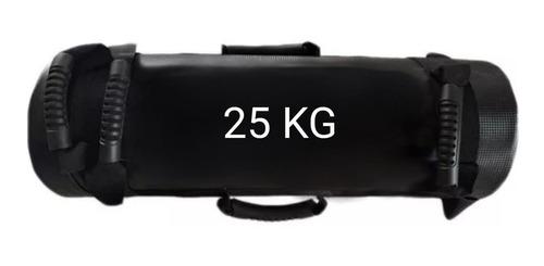 saco core bag 25 kilos entrenamiento funcional negro