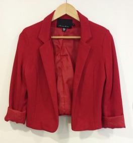 e8e09416 Blazer Corto Mujer - Ropa y Accesorios de Mujer Rojo en Mercado ...