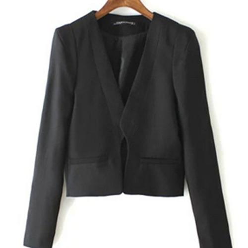 saco dama estilo blazer casual moderno temporada slim fit