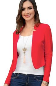 outlet(mk) diseño exquisito busca lo mejor Saco Dama Mujer Blazer Moda Formal Jaquard Rojo Verano Comod