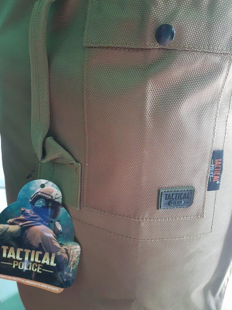 88fb46e73 Saco De Avio Militar Tactical Police Original Mochila Costal ...