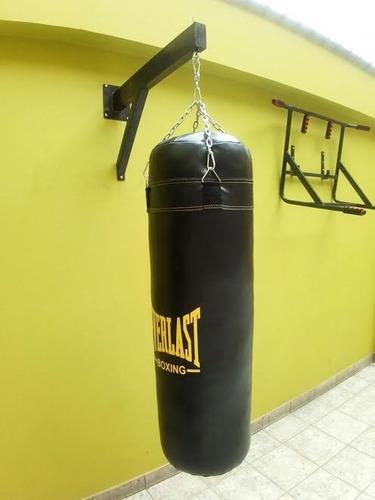 saco de box lleno de 1,20 cm+cadena nuevo promocion everlast