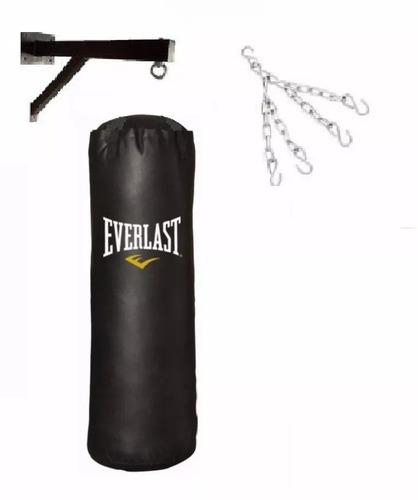 saco de box lleno de 1,80cm+soporte+cadena super resistente