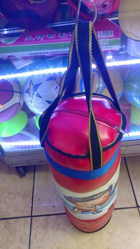 saco de box más guantes para niños