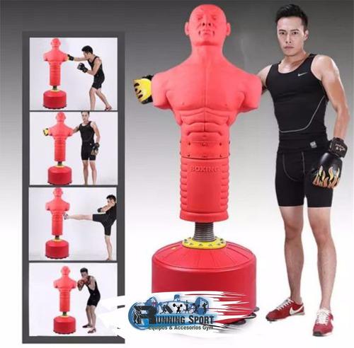 saco de box o boxeo en forma humana