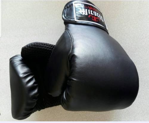 saco de boxeo 80cm + guantes ufc + 2vendas + kit para colgar