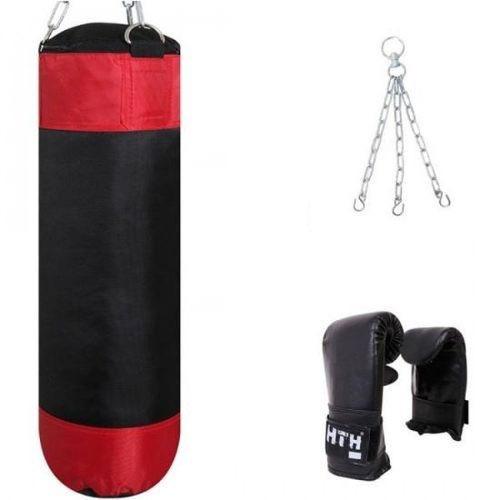 saco de boxeo incluye guantes 10 oz