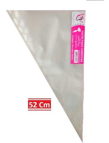 saco de confeitar kit 01 gran.+ 01 peq. com 50und por pct.
