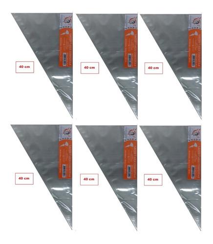 saco de confeitar/manga descartável 40cm- médio 300 unidades