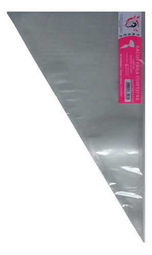 saco de confeitar/manga descartável 52cm- grande 50 unid.
