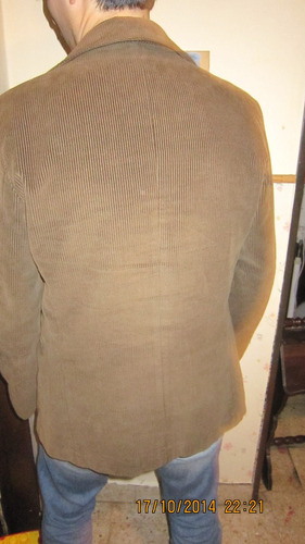 saco de corderoy