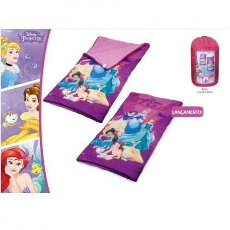 saco de dormir as princesas