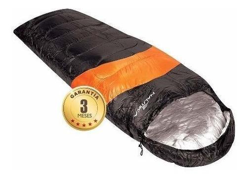 saco de dormir  camping, outdoor nautika viper +5 +12 tem.