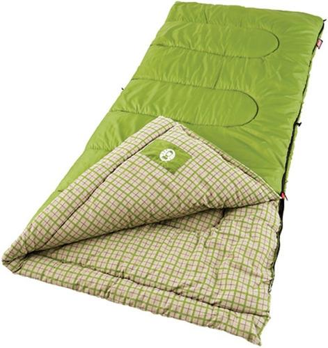 saco de dormir coleman green valley até -1 grau