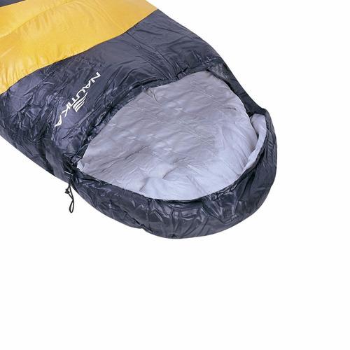 saco de dormir com capus viper 5ºc a 12ºc + sacola - nautika